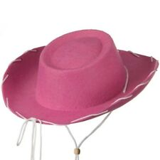 Pink Felt Cowboy Child Hat Woody Toy Story Jessie Cowgirl Sheriff Costume Movie
