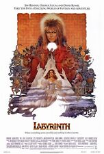 "LABYRINTH (1986) Movie Poster [Licensed-NEW-USA] 27x40"" Theater Size (Alt Style)"