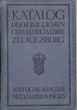 Katalog der Königlichen Gemäldegalerie zu Augsburg, 1912