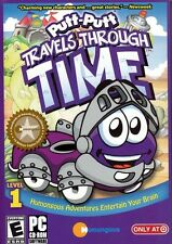PUTT-PUTT TRAVELS THROUGH TIME PC CD-ROM TARGET EXCLUSIVE NEW & SEALED