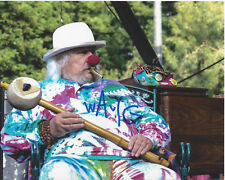WAVY GRAVY - WOODSTOCK CULTURAL ICON SIGNED AUTHENTIC 8X10 PHOTO F w/COA HIPPIE