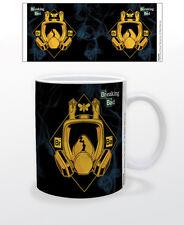 BREAKING BAD-MASK 11 OZ COFFEE MUG TEA CUP TV SERIES CRIME AMC METH DRUGS BEST!!