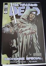 The Walking Dead 20 Comic Michonne Special Signed NM Condition COA Danai Gurira