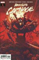 Absolute Carnage #1 choose from cover A G Trade Dress Virgin Cult True Believers