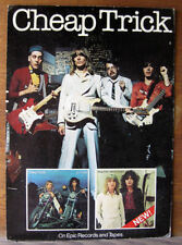 "Cheap Trick_Original 1978, 2-Sided_Cardboard_Hanging Promo Poster_17.5"" x 24.5"""