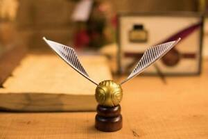 Halloween Harry Potter Magic Golden Snitch Miniature Collection Decor Cosplay AU