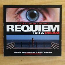 Clint Mansell Kronos Quartet Requiem For A Dream Original Soundtrack CD OST 2000