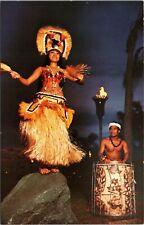 Disney World postcard - Polynesian Luau