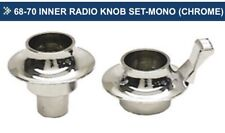 69 70 Inner Radio Knob Set Mono Amfm Chevelle Camaro Corvette El Camino