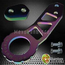 Neo Chrome Anodized Billet Racing Rear Tow Hook For Honda Civic Acura Integra