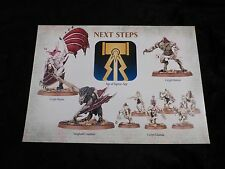 Warhammer AoS Flesh-Eater Courts Royal Hunt Warscroll Battalion Sheet