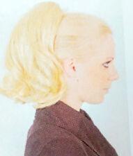 HAARTEIL -LEONIE - GRAU - SCHWARZ- Spange- Perücke Solida Bel Hair (LESEN)