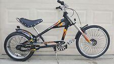 "Schwinn Stingray Bike OCC Chopper Black/Yellow 20"""