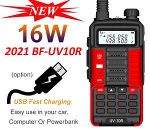 BAOFENG BF-UV 10R TWO WAY RADIO LONG RANGE WALKIE TALKIE DUAL BAND CB HAM RADIO