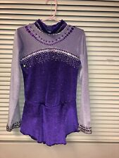 Figure Skating Competition Dress Girls Size Small (6-8)