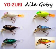YO-ZURI Aile Goby 2,5g MIX LOT 6 pcs. Japan Wobbler, Köder, Forelle, Raubfische