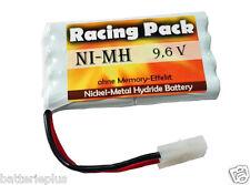 Akku-Pack 9,6V/2200mAh Ni-MH Tamiya-Stecker RC-Modelle  Racing-Pack Power