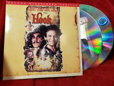 HOOK LaserDisc 1992 Laser Disc LD Dustin Hoffman Robin Williams Peter Pan