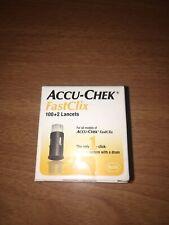 ACCU-CHEK FastClix 100+2 Lancets Sealed Box