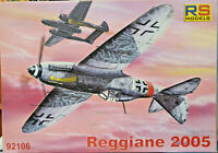 Reggiane Re-2005  Italian WWII Fighter - RS Models Kit 1:72 92106 Nuovo