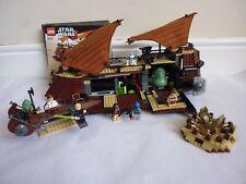 LEGO STAR WARS SET 6210 JABBAS SAIL BARGE + INSTRUCTIONS