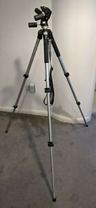MANFROTTO 055CL TRIPOD LEGS WITH 141RC 3 WAY PAN TILT HEAD GREAT CONDITION 055