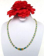 Perlen-Halsketten & -Anhänger im Collier-Stil mit echten Saphir für Damen