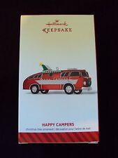Hallmark 2014 Christmas Keepsake Ornament ~ Happy Campers ~ RV Motorhome NIB