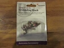 NEW RadioShack Dual Lead-In Grounding Block; Part #15-920 free shipping!