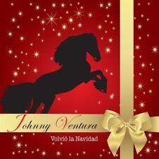 Volvio La Navidad [CD/DVD] by Johnny Ventura (CD, Nov-2009) Brand New sealed