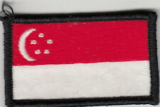 UN sleeve patch flag of Singapore