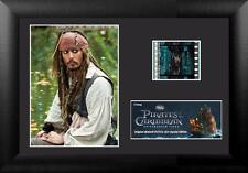 PIRATES OF CARIBBEAN On Stranger Tides Jack Sparrow MOVIE FILM CELL and PHOTO