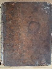 1750 HISTORY CANON LAW & CHURCH GOVERNMENT BY JEAN LOUIS BRUNET LEATHER BINDING