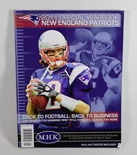New England Patriots Official 2011 Yearbook (Tom Brady Cover, Pull-Out Poster)