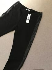 KDK LONDON BLACK STRETCHY JEGGINGS 14  Nwt