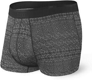 SAXX Platinum Boxers - Black Pattern Band
