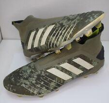 Adidas Predator Legacy Green/Sand laceless FG football boots - UK 10