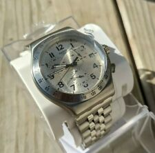 Swatch Irony Quartz Movement Silver Dial Unisex Watch YVS425G
