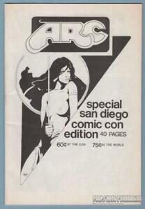 ARC San Diego Comic-Con Edition fanzine MIKE ROYER Scott Shaw JIM MITCHELL 1977