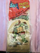 1990 MIRAGE TMNT TEENAGE MUTANT NINJA TURTLES 23 PAPER LUNCH BAGS - Opened