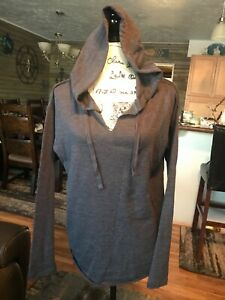 NWT Victoria Secret Hoodie Tshirt Size Medium