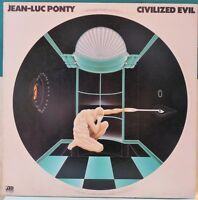 Jean-Luc Ponty: Civilized Evil (SD-16020). 1980 Jazz LP / Vinyl