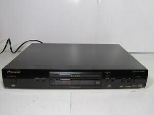 Pioneer Elite DV-45A DVD-Audio, SACD, DVD & CD Player Tested & Working No Remote