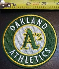"Oakland A's Athletics 3.5"" Iron/Sew On Embroidered Patch FREE SHIPPING FROM U.S."