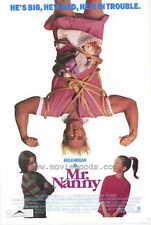 MR. NANNY Movie POSTER 27x40 Hulk Hogan Sherman Hemsley Austin Pendleton Robert