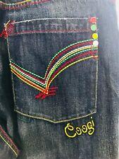 Coogi Jeans Embellishmed heavy stitching Australia Mens Size 40 X 34