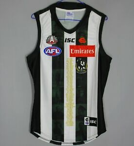 COLLINGWOOD MAGPIES 2018 AZNAC APPEAL DAY 1915 2018 AFL ISC FOOTBALL JERSEY #10