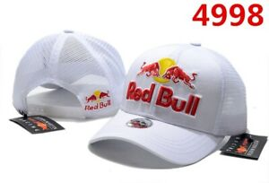 White Red Bull Cap - New With Tag