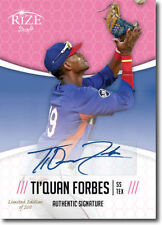 TI'QUAN FORBES 2014 Rize Draft *PINK* Certified AUTOGRAPH RC - Only 200 Made!
