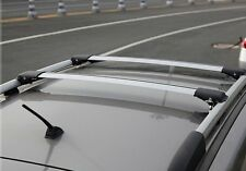 Aero Alloy Roof Rack Slim Cross Bar for Jeep Renegade 2015-18 Lockable 75kg